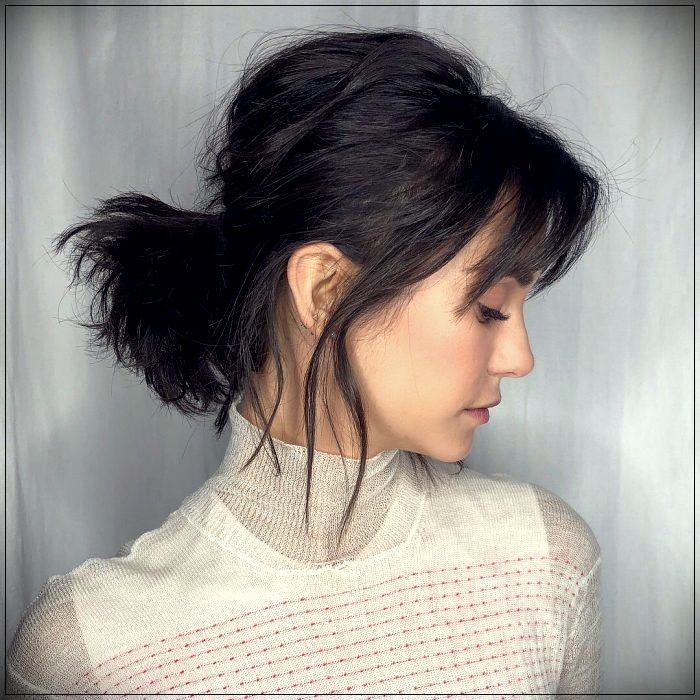 20 Pretty and simple hairstyles for girls with shoulder length hair