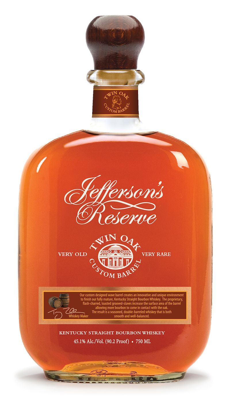 Jefferson S Twin Oak Custom Barrel Bourbon Will Only Purchase If This Was Aged On A Kayak Down The Chattahoochee Riv Bourbon Whiskey Bourbon Bourbon Barrel