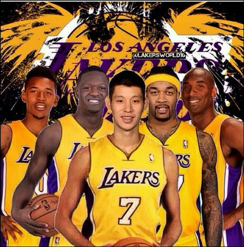 The Los Angeles Lakers New Faces Lakers Lineup Lakers Los Angeles Lakers