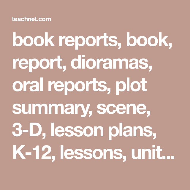 book report in english with moral lesson and summary