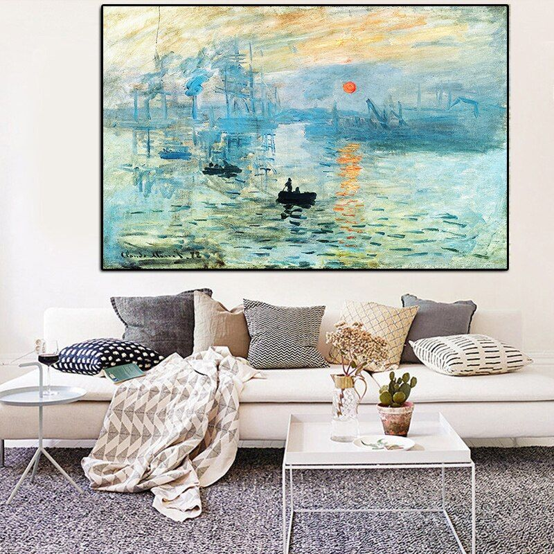 A4,A3,A2,A1 SUNRISE by MONET Home Wall Art Print Poster