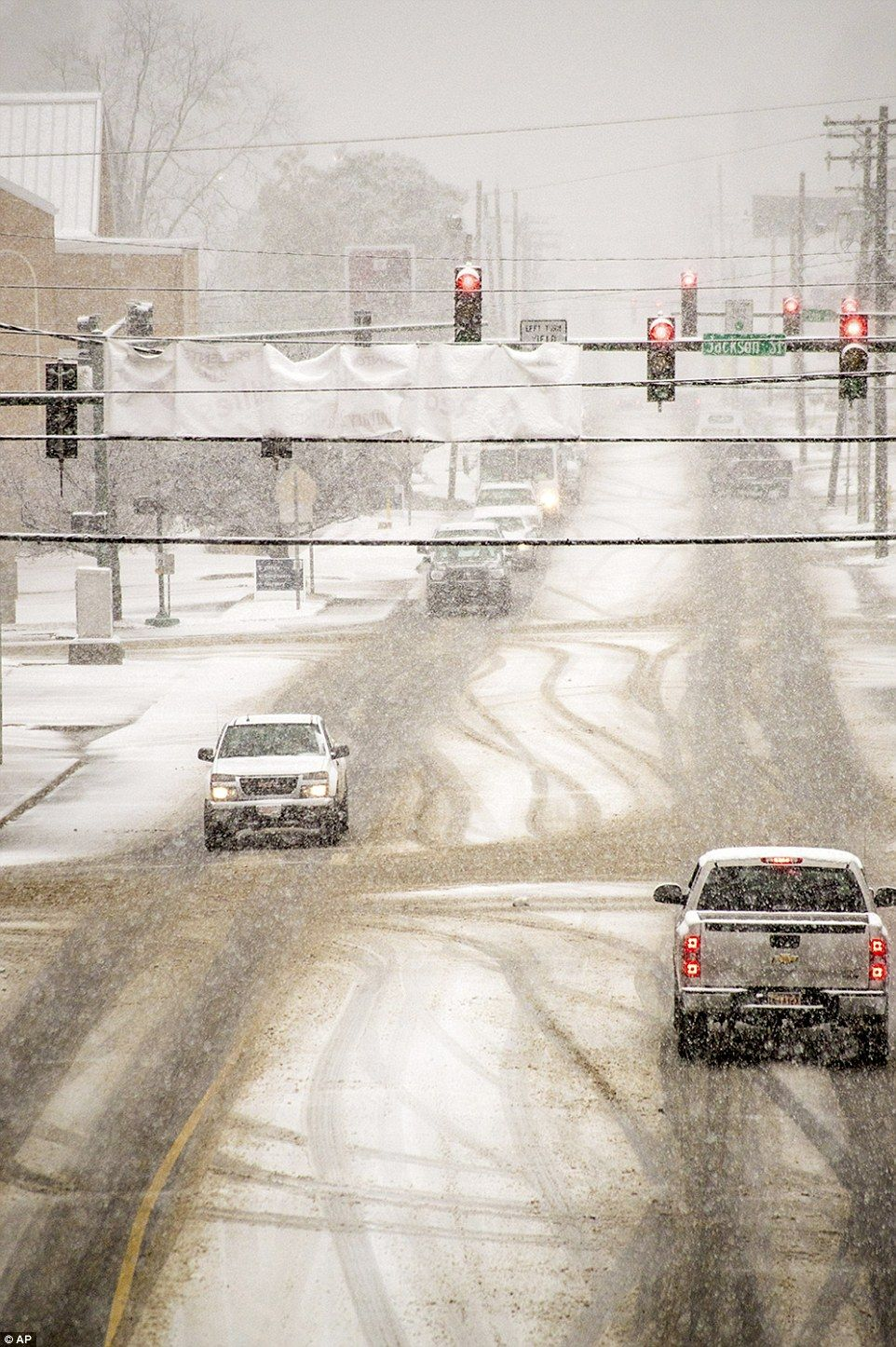 More Cold Snow Ice In South But Relief May Be In Sight With
