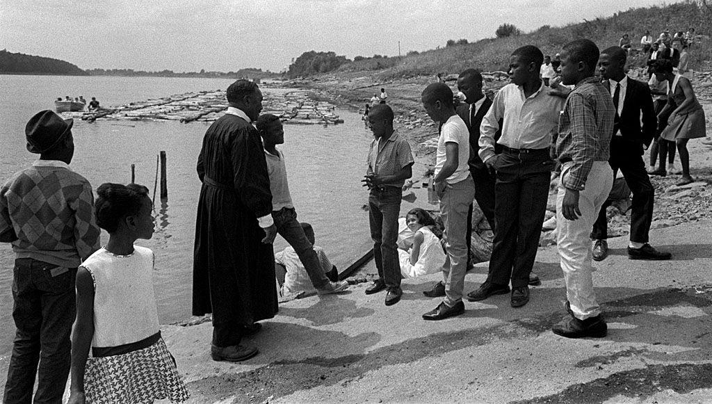 Mississippi River Baptism c 1967