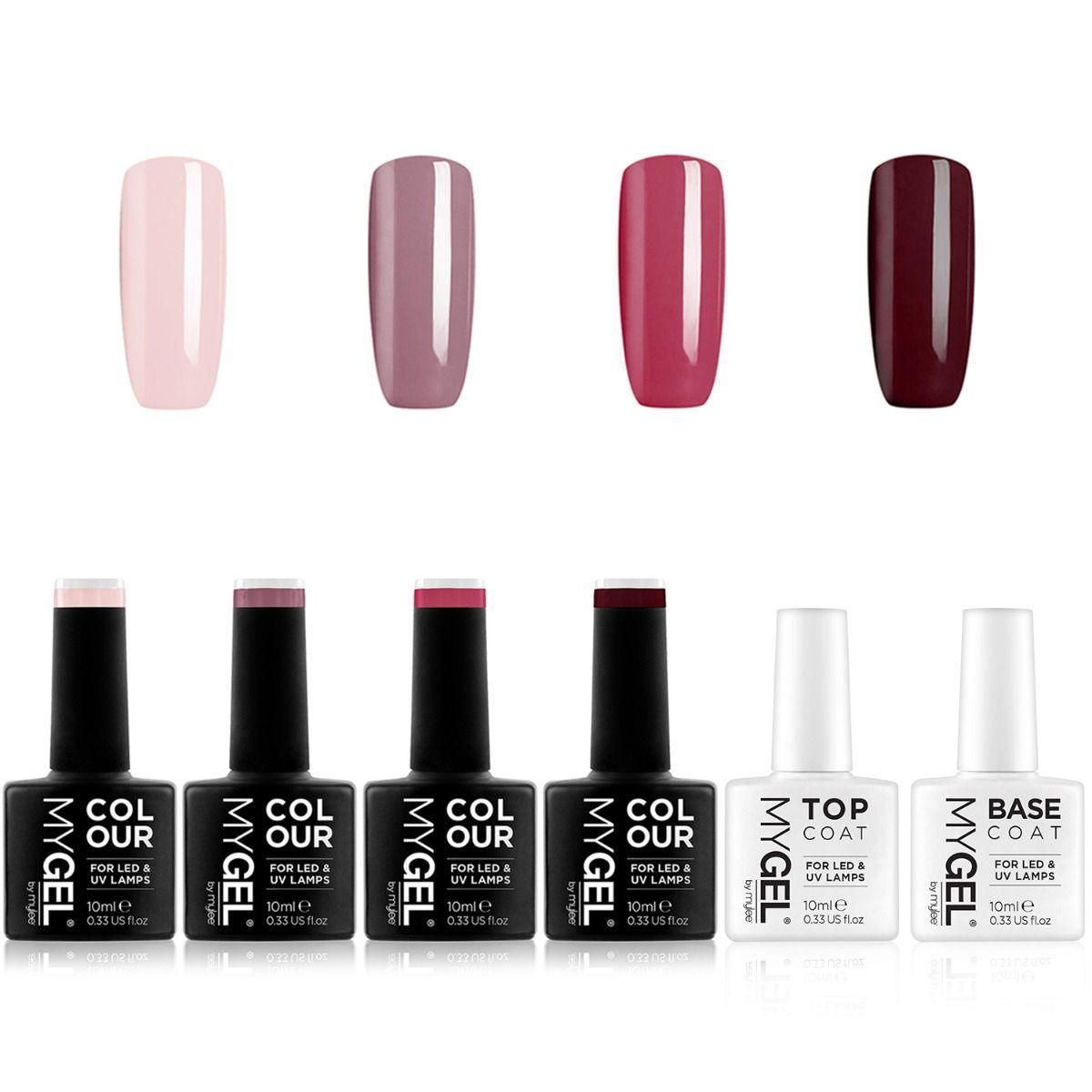 Mylee Mygel Classic Collection 4 Colour Gel Polish Set Gel Nail Polish Colors Gel Nail Colors Gel Polish