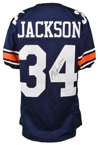 watch 657a2 4327f Signed Bo Jackson Jersey - Jsa War Eagle   Auburn Tigers ...