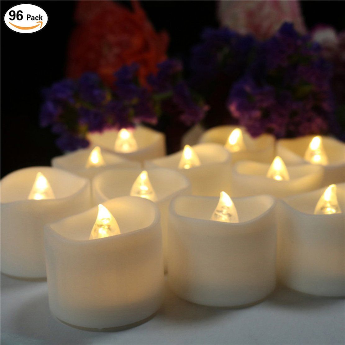 200 Hours Led Mini Tea Light With Timer 6 Hrs On 18 Off