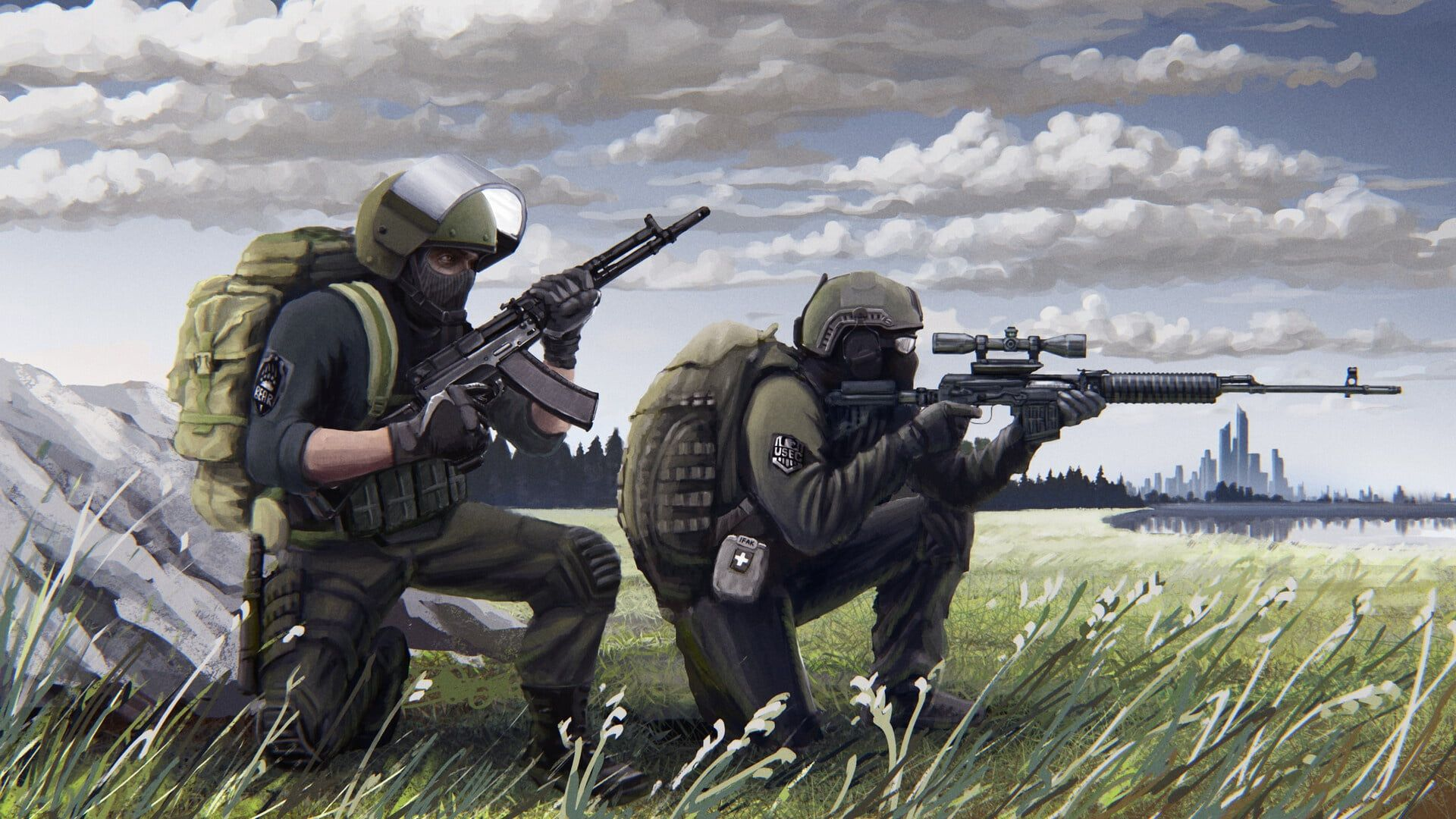 Mercenaries Bear Usec Escape From Tarkov Eft R 2028 Russia