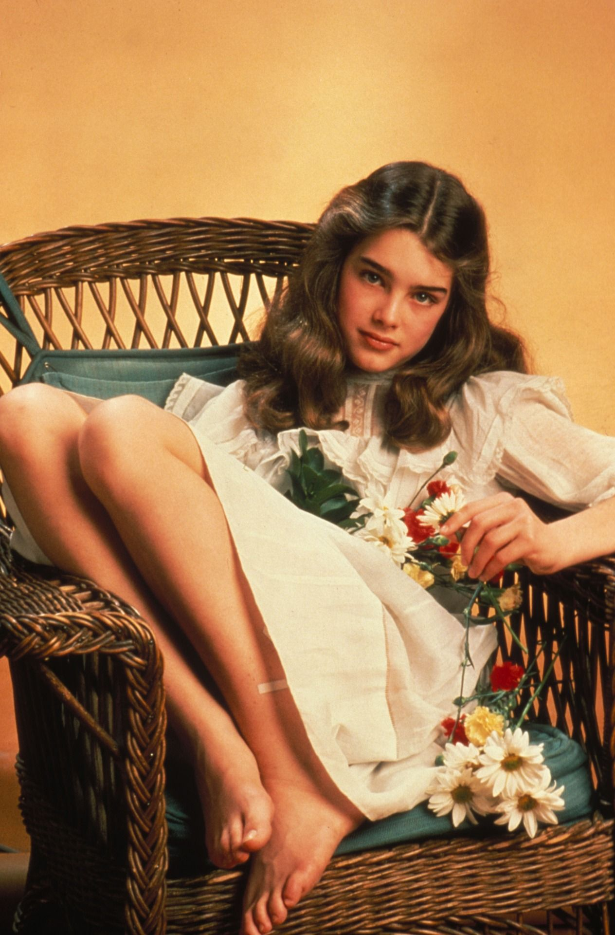 Pretty In Pink 10 Pink Makeup Looks With Voluminous Curly: Brooke Shields Young, Brooke