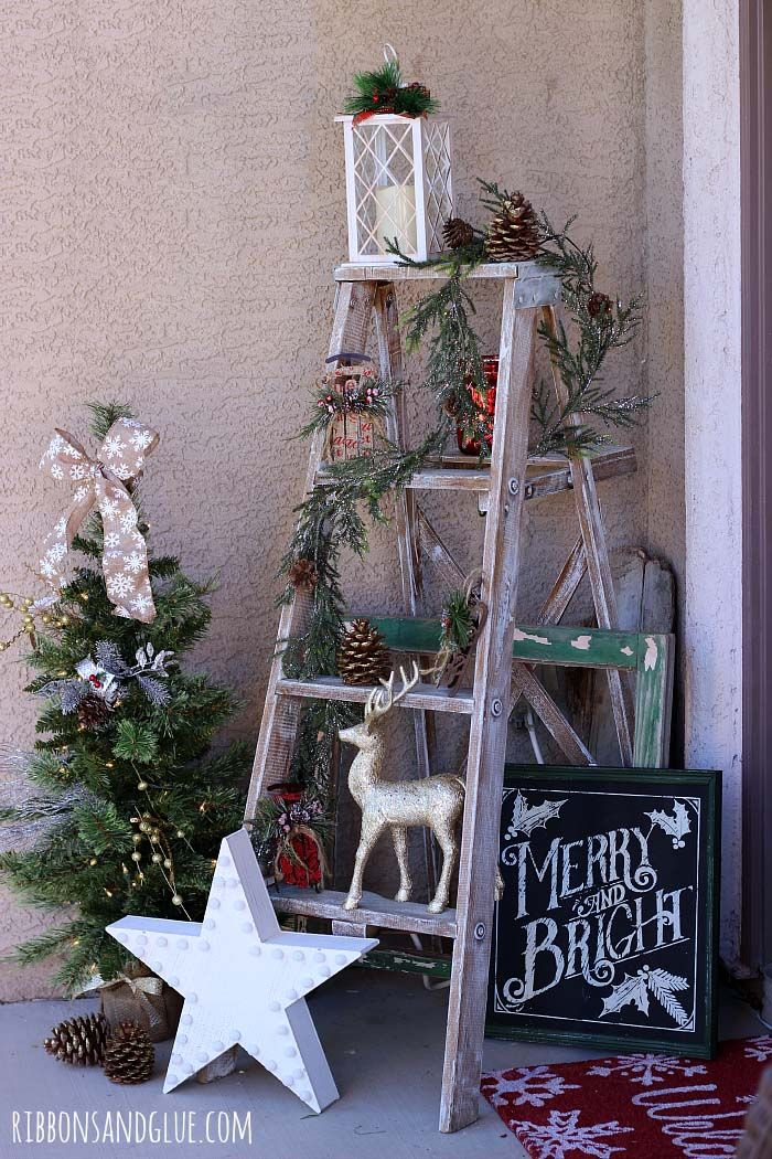40+ Fabulous Rustic-Country Christmas Decorating Ideas | Christmas ...