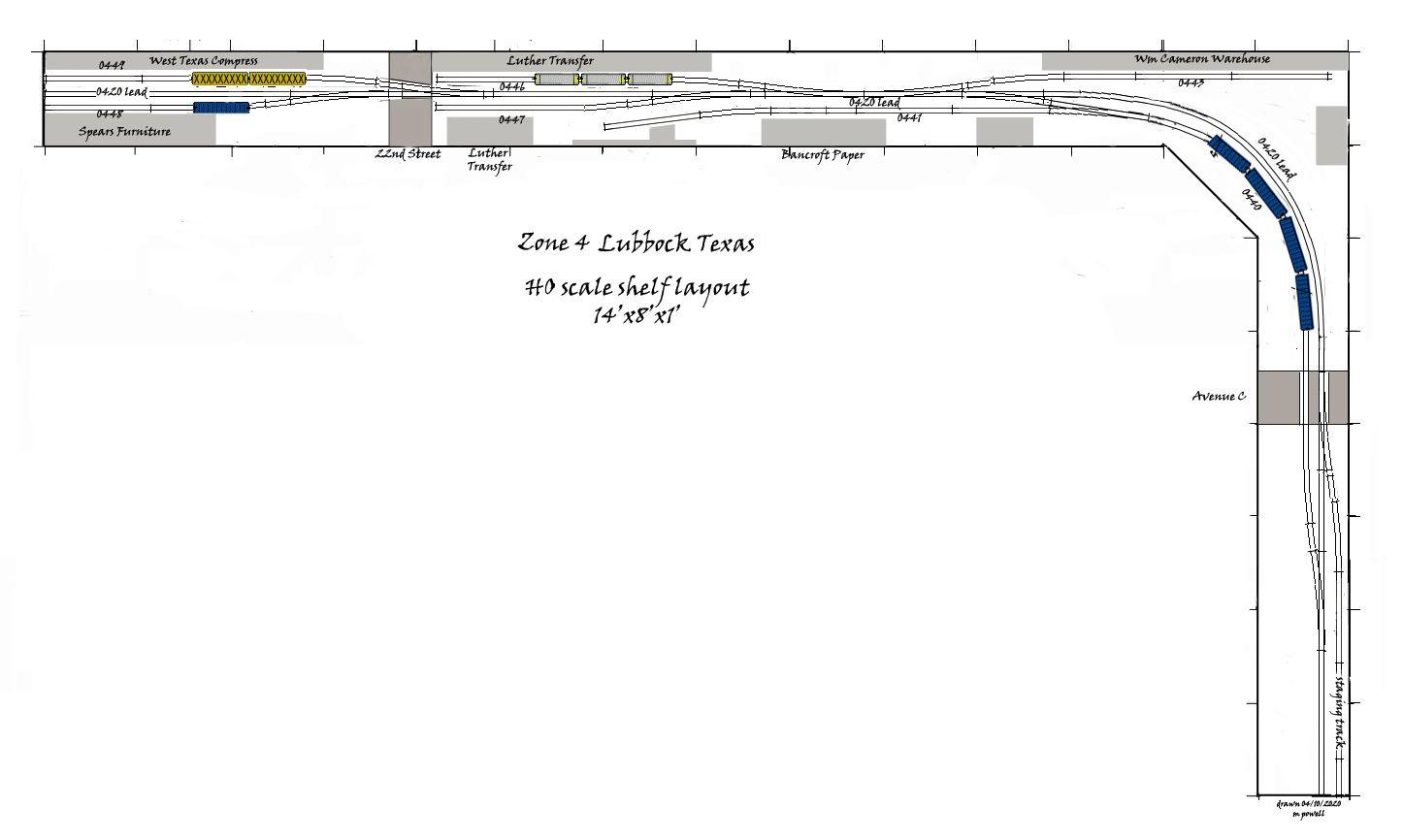 lubbock011.jpg 1,446×866 pixels Model railway track