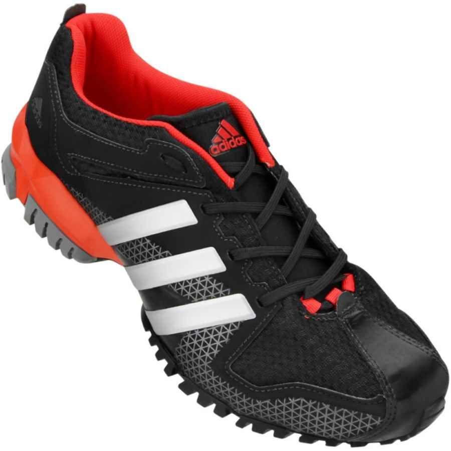 154a8a96f36 Tênis Adidas Aresta Masculino Preto   Vermelho