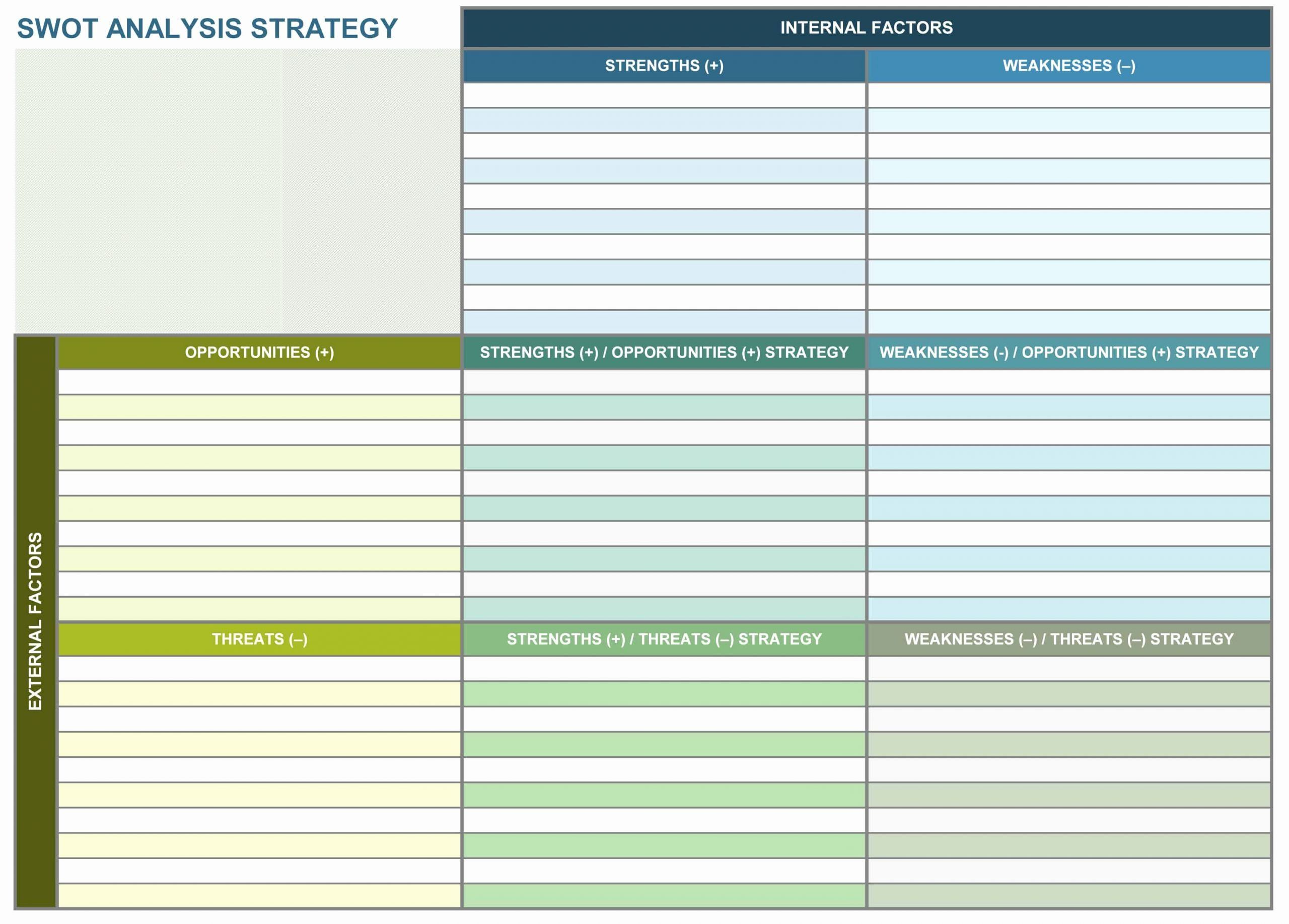 Free Strategic Plan Template Awesome 9 Free Strategic