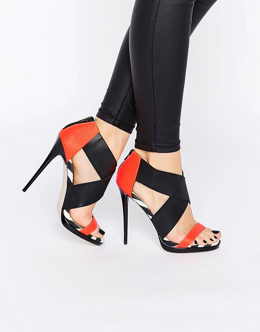 ASOS HOT TO TROTT Heeled Sandals at asos.com