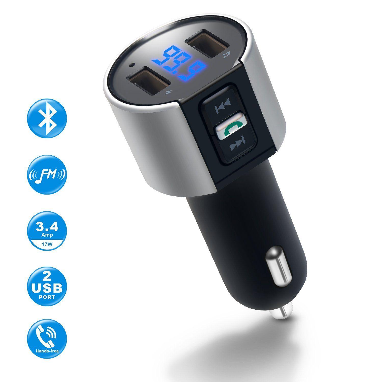IMDEN Bluetooth FM Transmitter for Car Usb, Car gadgets