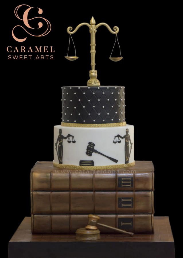 Law Justice Cake By Caramel Doha Lawyer Cake Graduation Party Cake Graduation Cakes