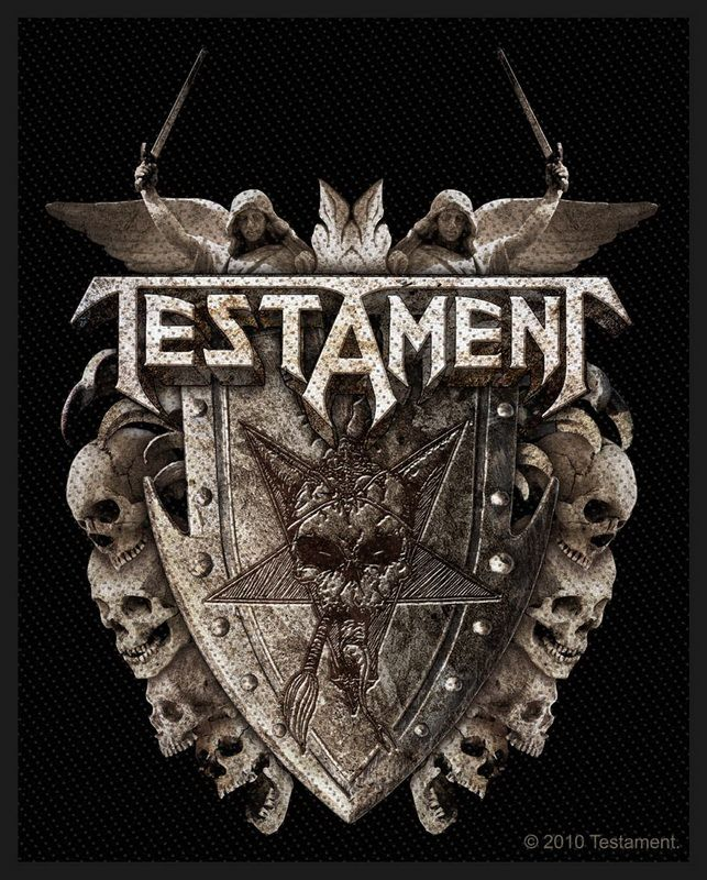 Testament Dark Roots of Earth Patch 10cm x 10cm