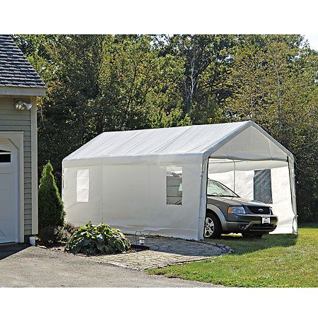 ShelterLogic 10' x 20' Clearview Enclosure Kit With Windows