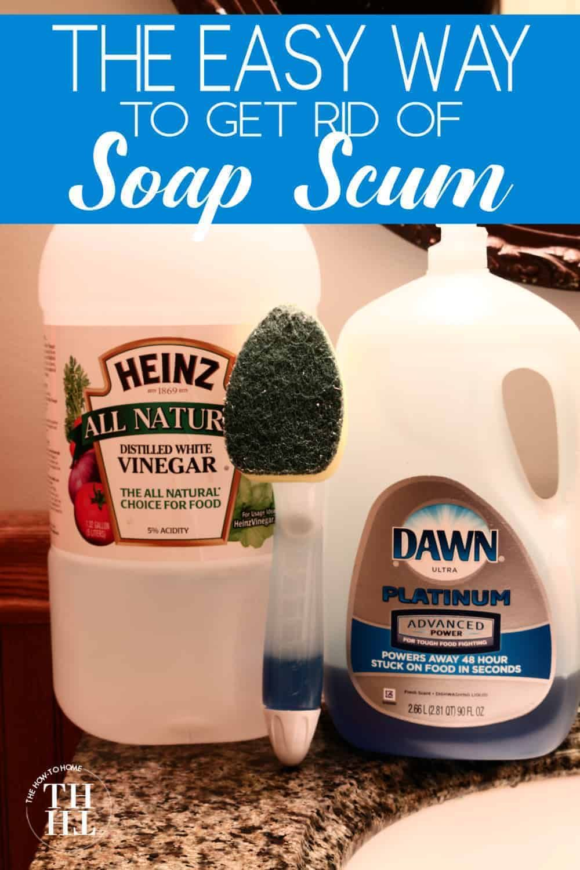 diy bathtub soap scum cleaner