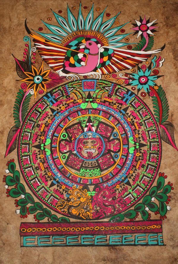 Aztec calendar stone - Wikipedia, the free encyclopedia ...