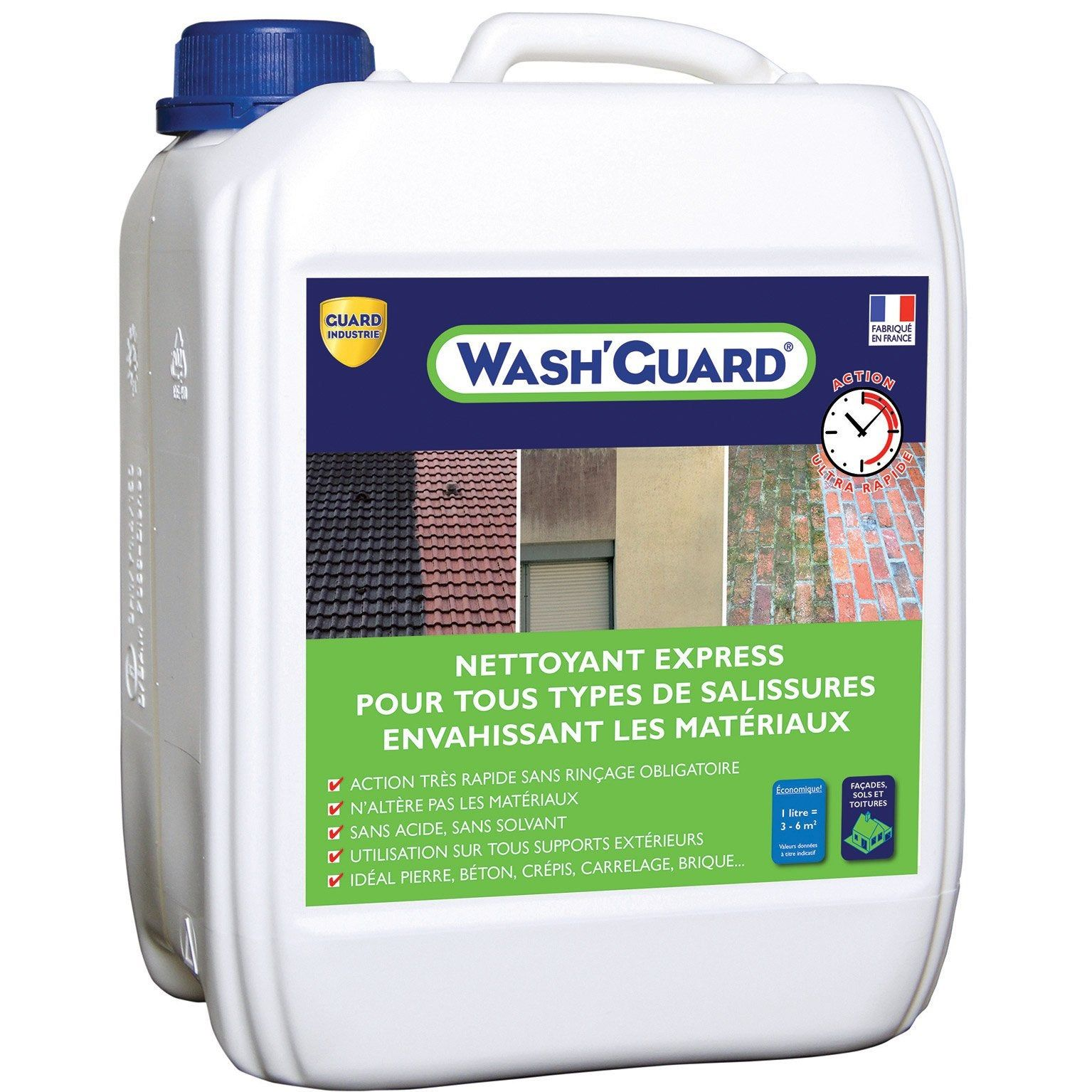 Nettoyant Guard Industrie Express Wash Guard 5 L Incolore Nettoyer Terrasse Nettoyer Sol Et Terrasse Beton