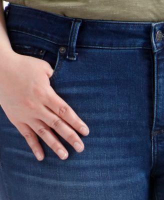 8592dcb639c Lucky Brand Trendy Plus Size Lolita Skinny Jeans - Blue 22W ...