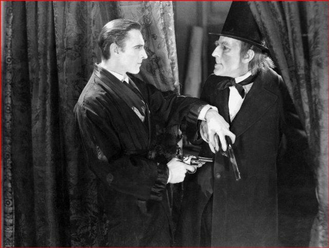 Still Of John Barrymore And Gustav Von Seyffertitz In Moriarty 1922 Sherlock Sherlock Holmes Holmes