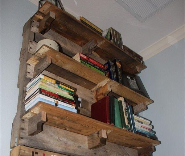 Diy Pallet Bookshelf Plans Or Instructions Pallets