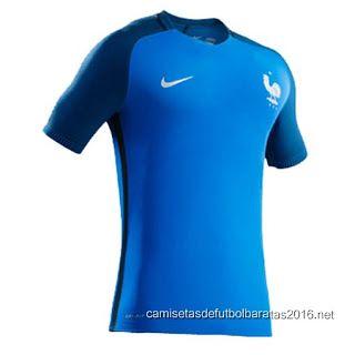 Comprar replicas camisetas de fútbol baratas 2016   Nuevo camiseta Francia   2fd3b7f0ad458