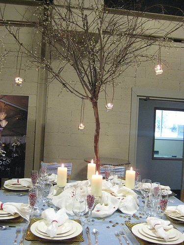 winter wonderland table setting table decorations //.creative-theme-wedding-ideas.com/winter-wonderland-wedding.html | Christmas decor | Pinterest ... & winter wonderland table setting table decorations http://www ...