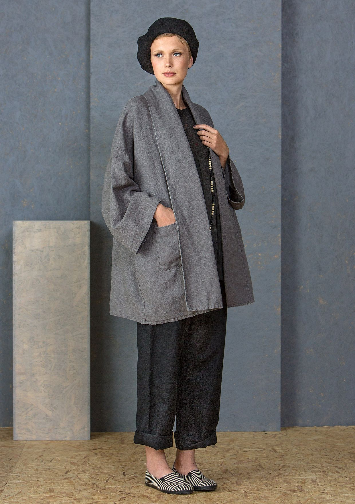 6e4f2d11c64d Coats & jackets – GUDRUN SJÖDÉN – Webshop, mail order and boutiques |  Colorful clothes and home textiles in natural materials.