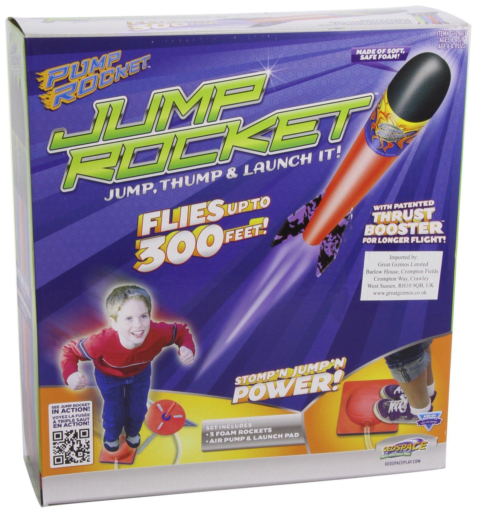 Geospace Jump Rockets 3 Fusées