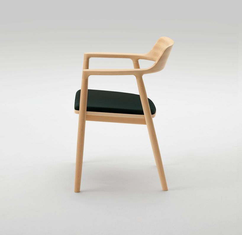 hd designs morrison accent chair target table and chairs maruni celebrates 90 years with wooden by naoto fukasawa 90th jasper