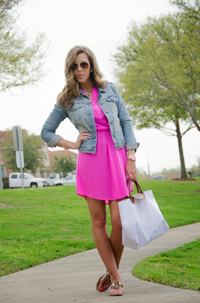 Shocking pink for the love of fancy blog fashion pinterest