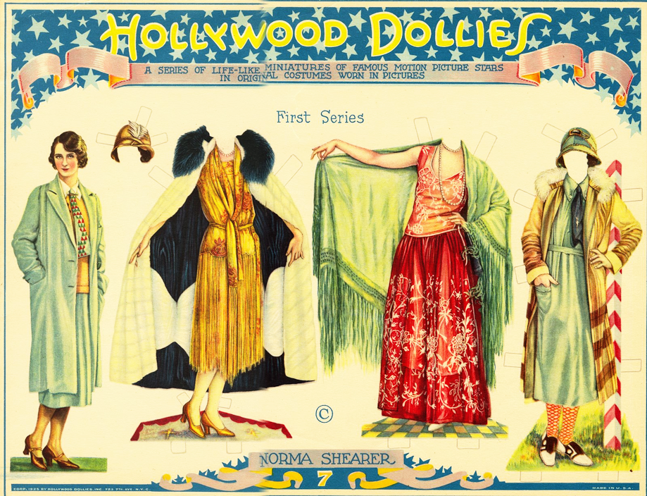 Hollywood Dollies NORMA SHEARER #4