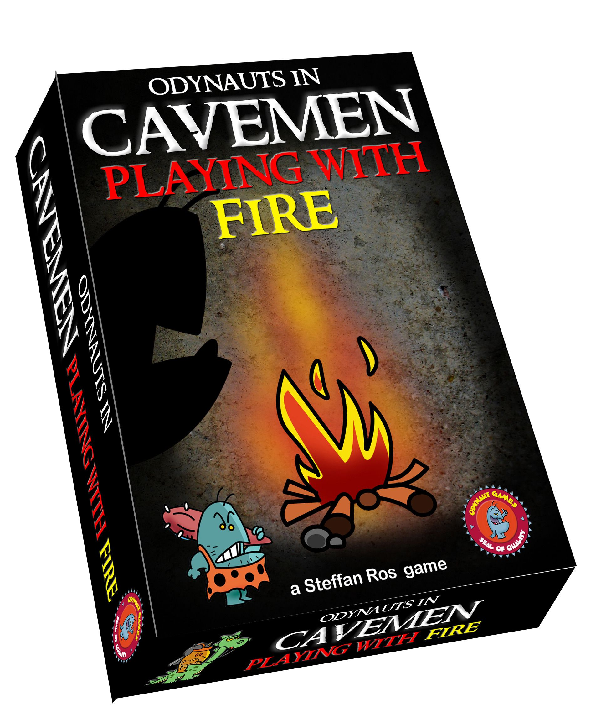 Cavemen Playing With Fire Board games, Player card