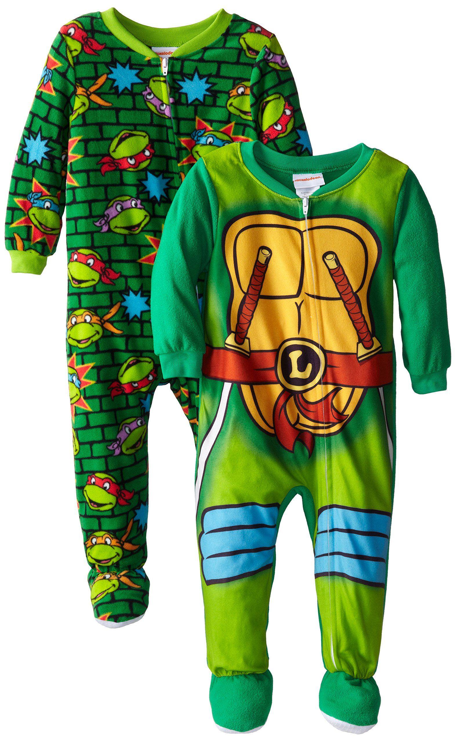 acae600db Teenage Mutant Ninja Turtles Little Boys  2 Pack Leonardo Costume ...