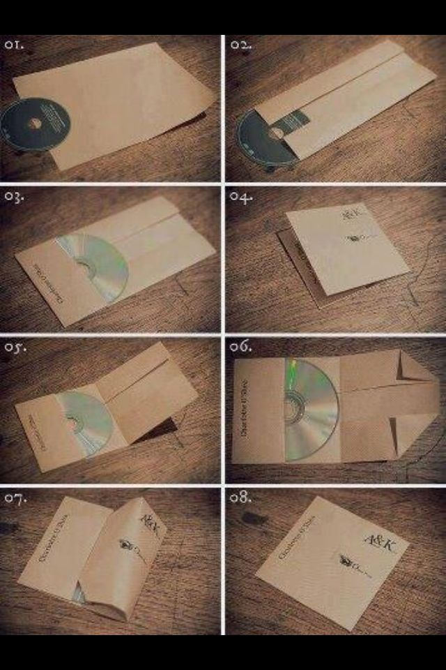 Awesome way to create cd cases!