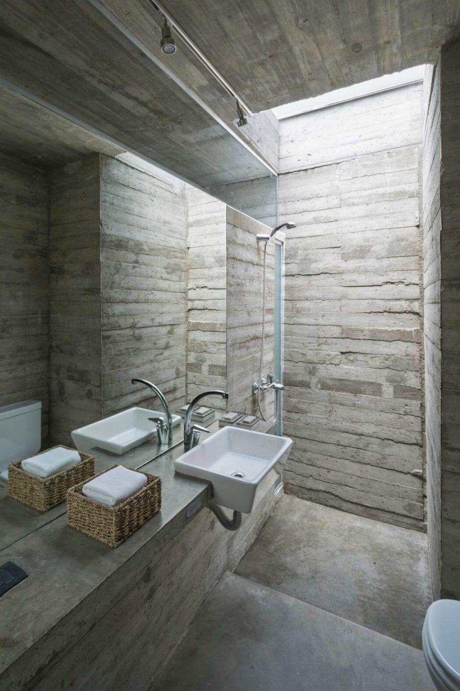 Stilvolle Betoninnenräume für zeitgenössische Häuser ...