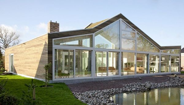 Top Class Glass House in The Netherlands | Ranch, Glass houses and ...