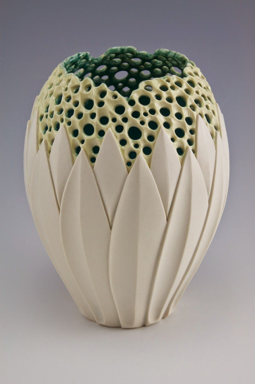 By simon van der ven via musing about mud products pinterest illuminated lotus vase by simon van der ven porcelain reviewsmspy