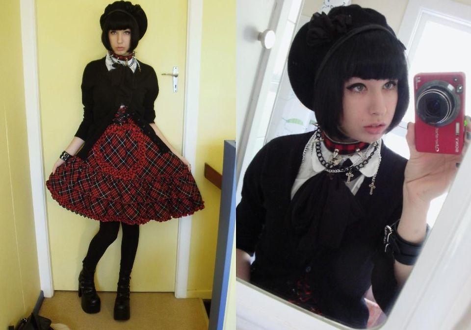 Voodoo Doll - Gothic Doll Punk Chocker, Gothic Doll Buckle