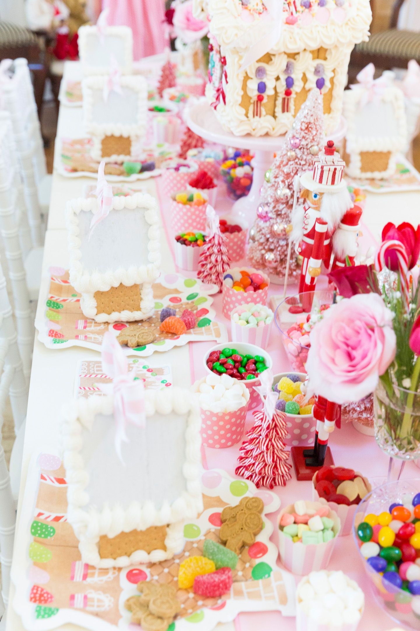Garden party inspiration  Blakelyus nd Annual Gingerbread House Tea Party  Party Ideas