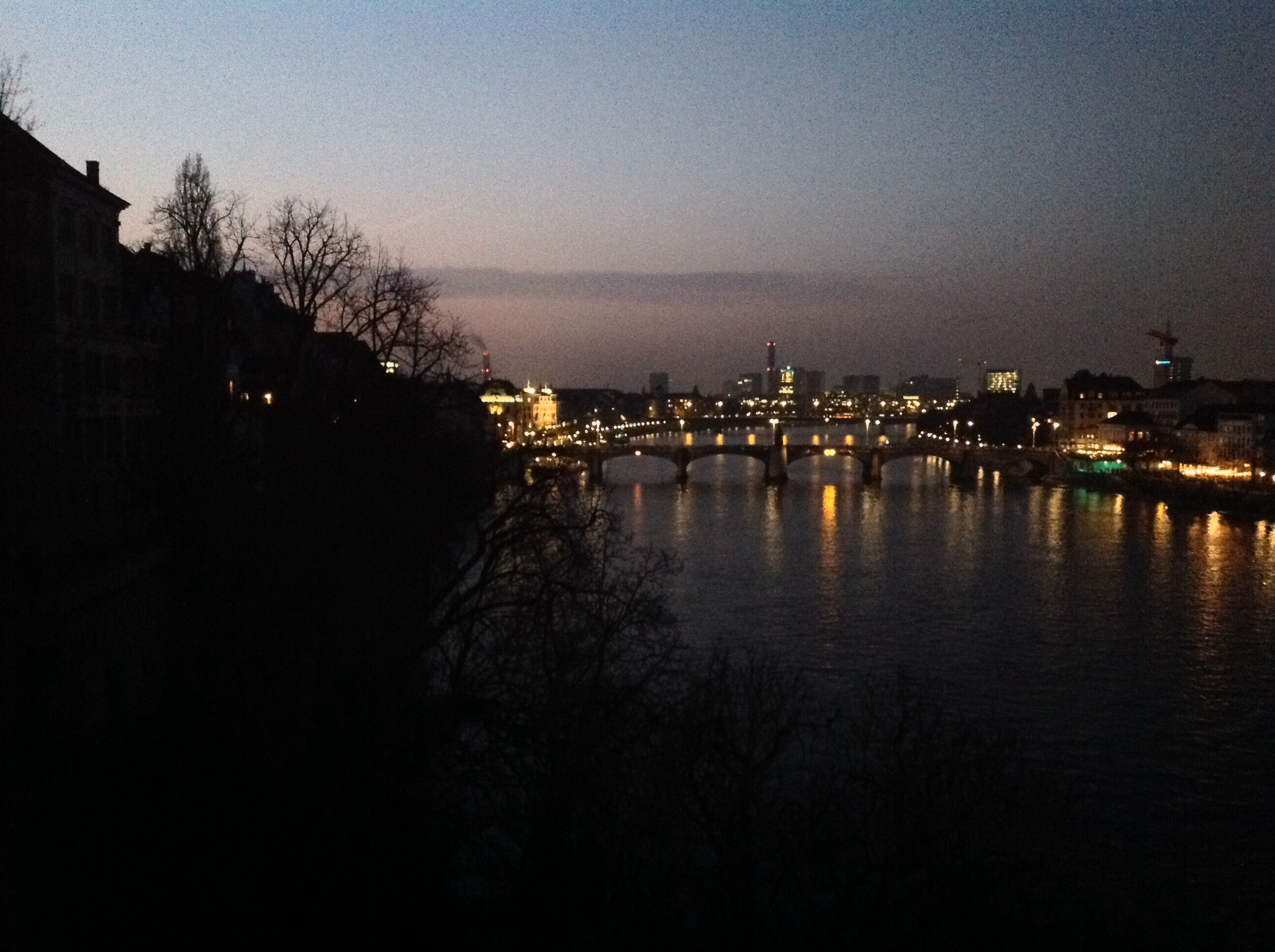 Basel at night and the party goes on!