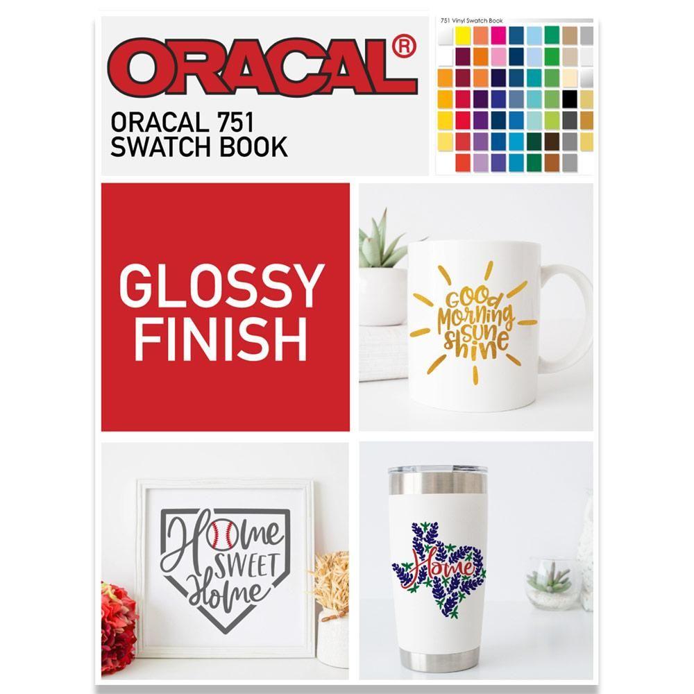 Oracal 751 Swatch Book | Cricut | Vinyl sheets, Swatch