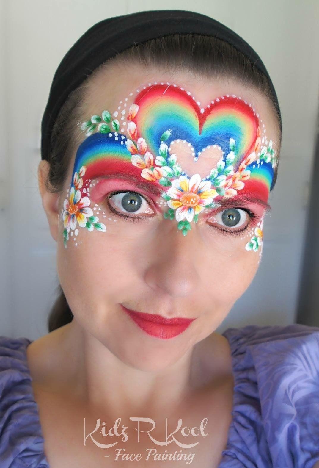 Henna By Leyla Shemesh: Beautiful Rainbow Heart By Kids Kool.