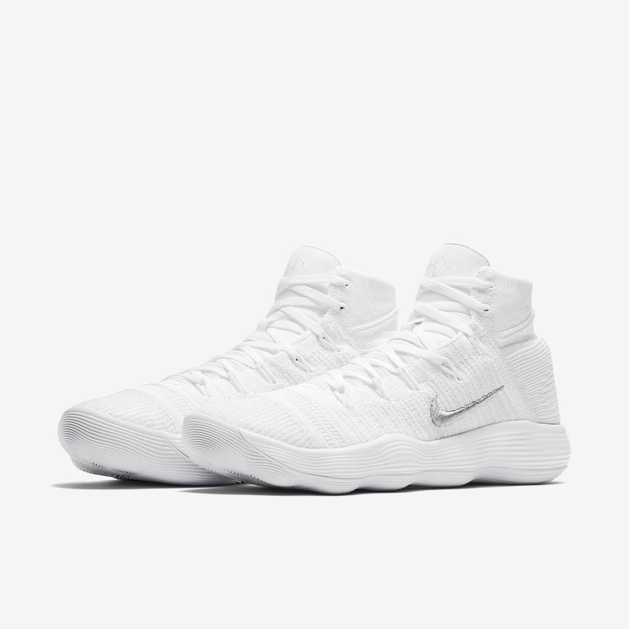 sale retailer a42ba 14fe6 Nike React Hyperdunk 2017 Flyknit Basketball Shoe