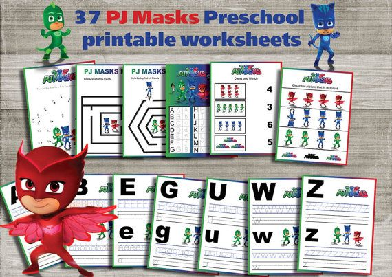 Pj Preschool Activities