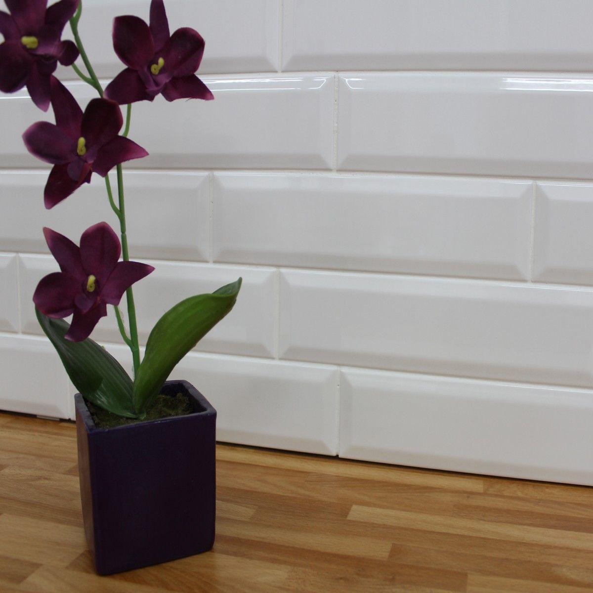 White Kitchen Wall Tiles kensington white kitchen wall tiles | splash backs | pinterest