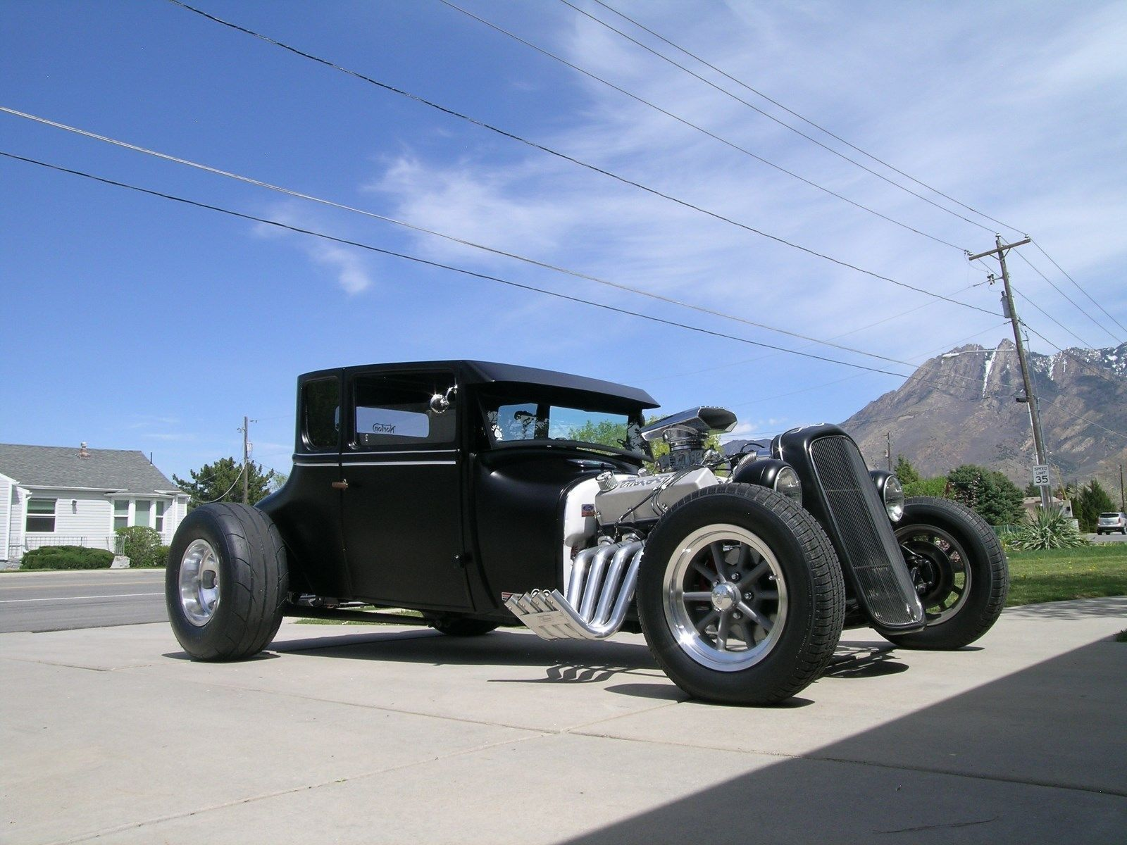 Black devil 1926 Ford Model T hot rod | Hot rods for sale ...