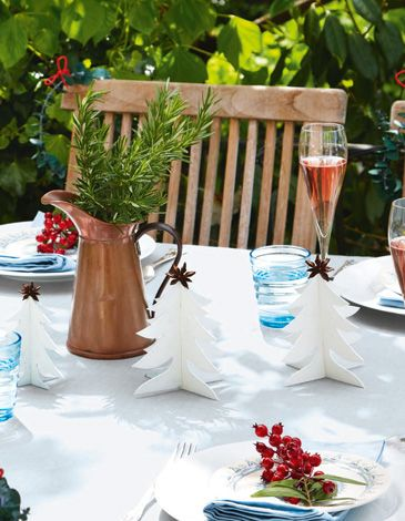 Special Features Article How To Christmas Table Decorations Nz House Garden
